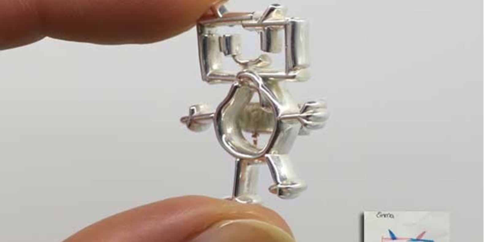 cults dessin enfant ucki impression 3D fichier 3D metal bijoux imprimés en 3D kid 9