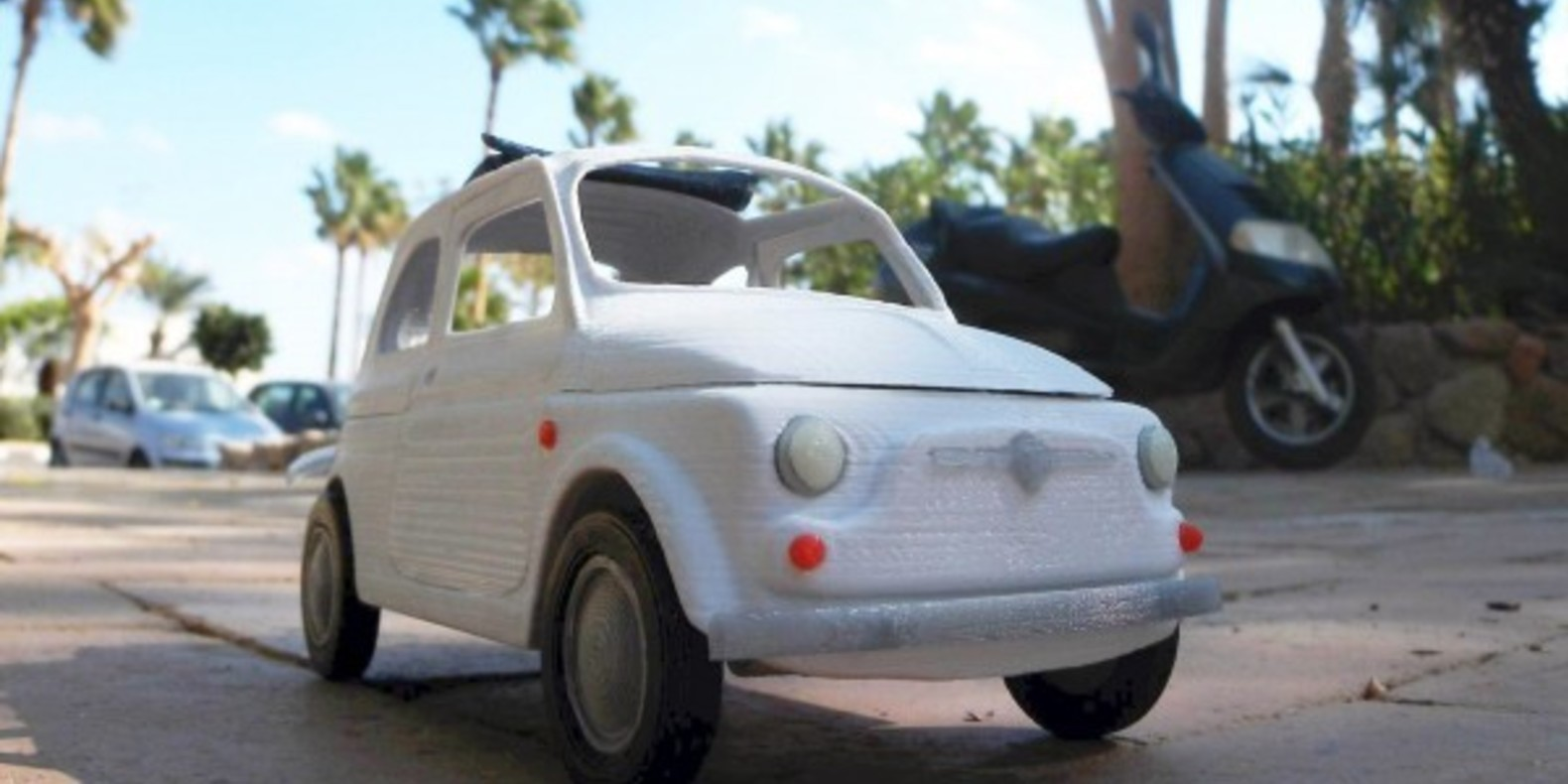 Italian Sixties Car 1 - Mao Casella - Cults modélisme 3D printing Impression 3D Fichier 3D