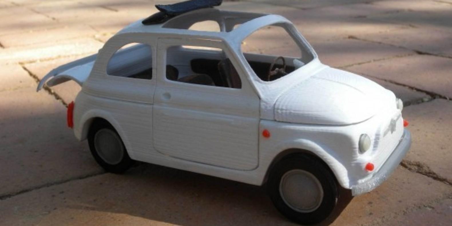 Italian Sixties Car 2 - Mao Casella - Cults modélisme 3D printing Impression 3D Fichier 3D