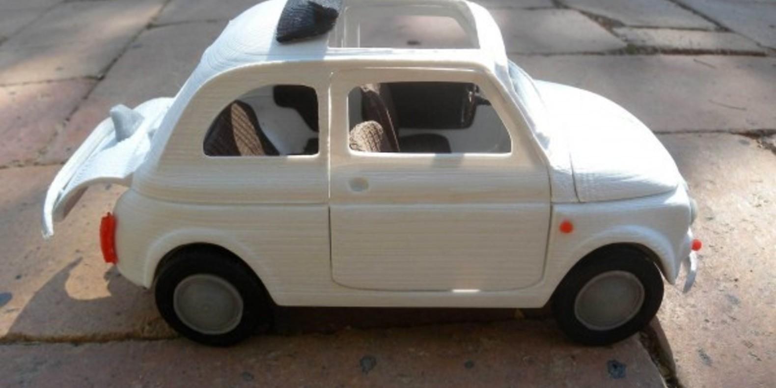Italian Sixties Car 3 - Mao Casella - Cults modélisme 3D printing Impression 3D Fichier 3D