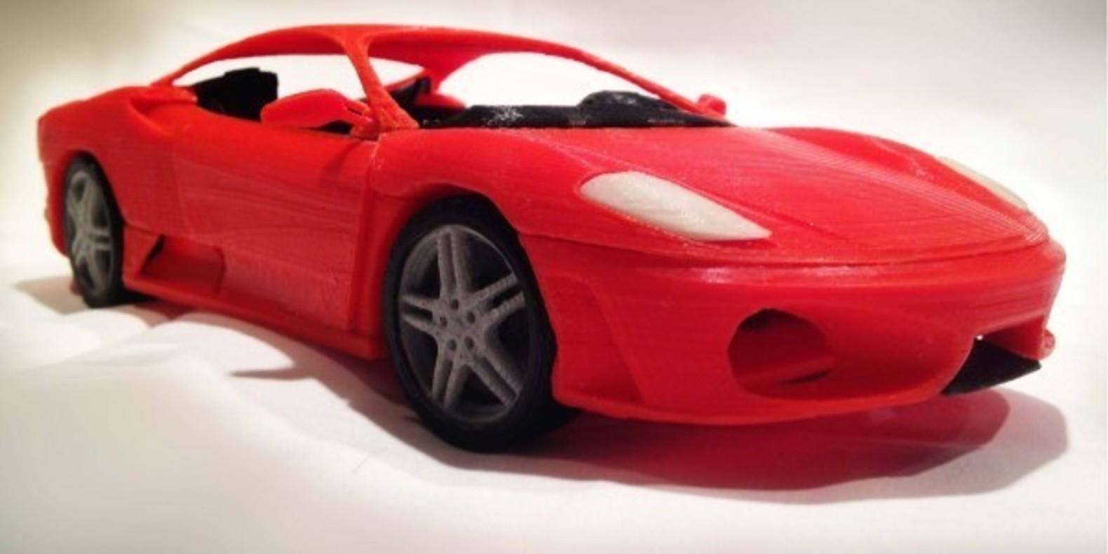 Italian Sports Car 1 - Mao Casella - Cults modélisme 3D printing Impression 3D Fichier 3D