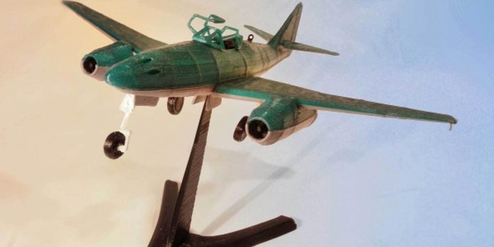 Messerschmitt ME 262 2 - Mao Casella - Cults Cults modélisme 3D printing Impression 3D Fichier 3D