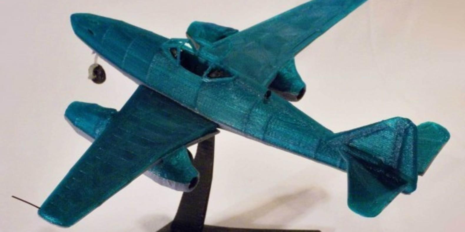 Messerschmitt ME 262 3 - Mao Casella - Cults Cults modélisme 3D printing Impression 3D Fichier 3D