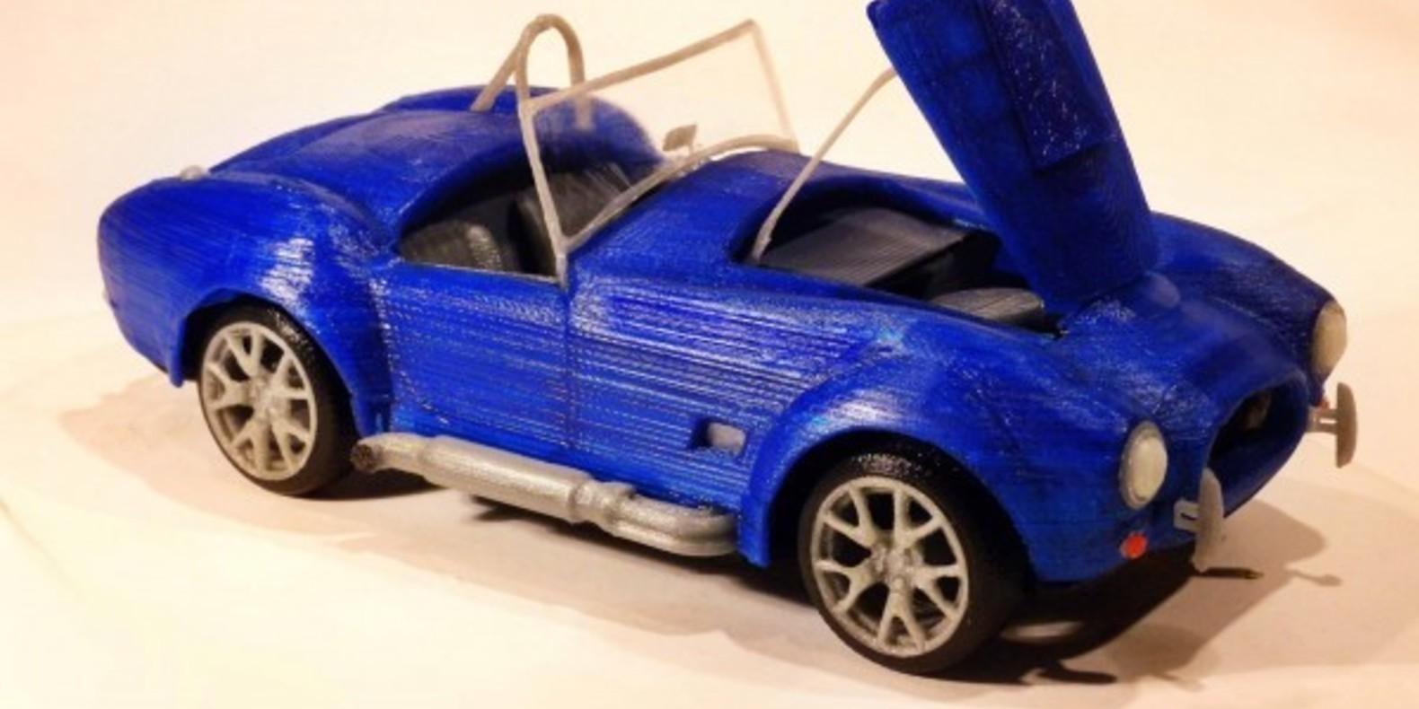American Sports Car 1 - Mao Casella - Cults Cults modélisme 3D printing Impression 3D Fichier 3D