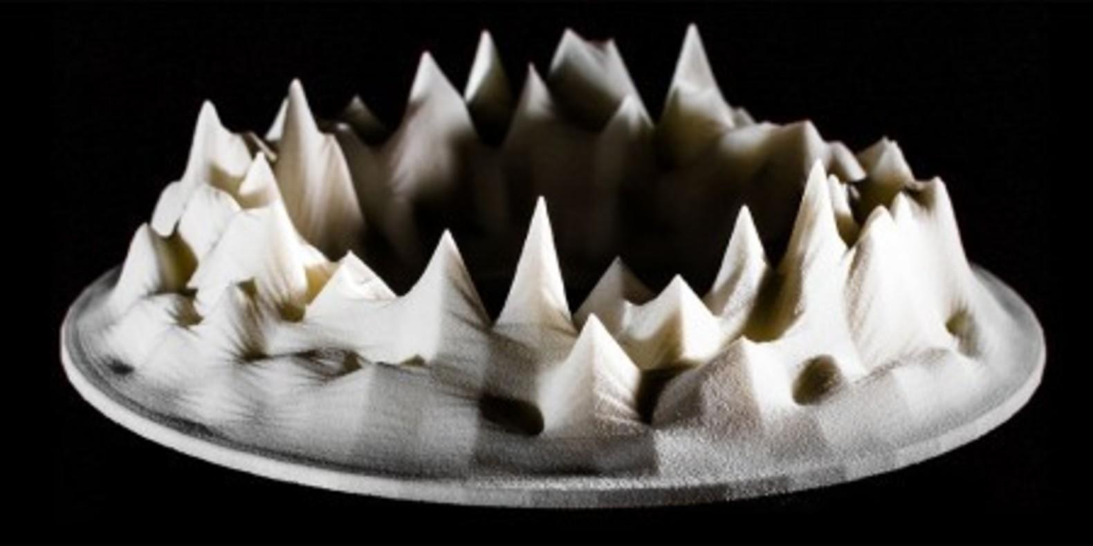 Lukasz Karluk holodecks 3D printing sound music sculpture design cults cults3D fichier 3D Zebra 1