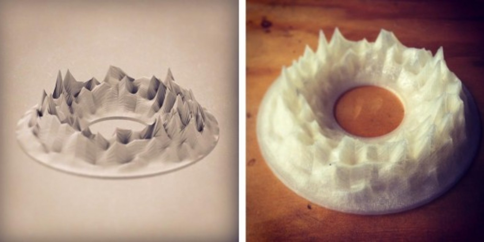 Lukasz Karluk holodecks 3D printing sound music sculpture design cults cults3D fichier 3D Zebra 2