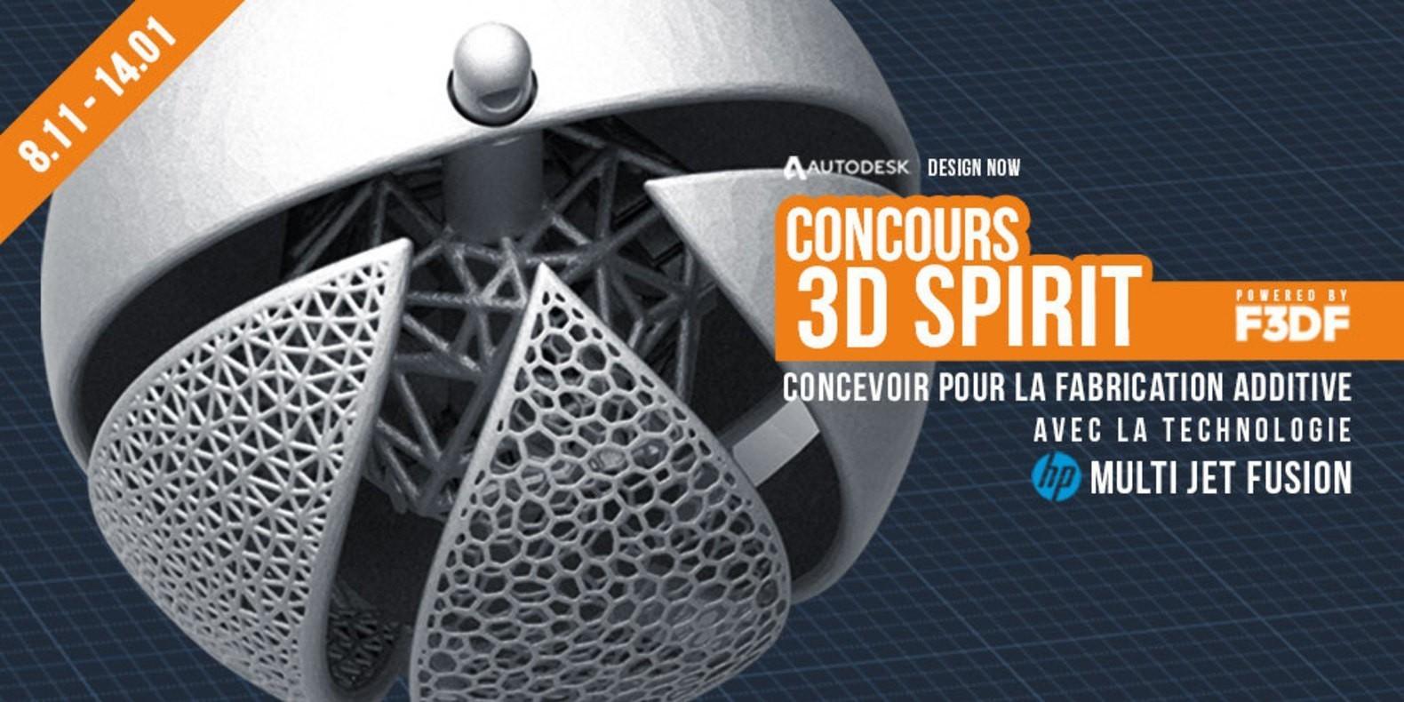 3D Spirit Contest 3D Printing 1