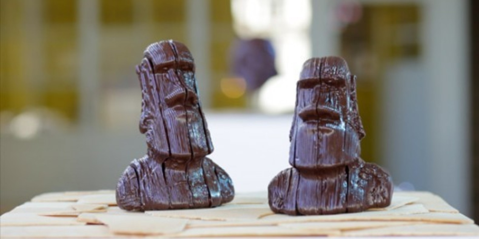 android kitkat chocnology impression 3D printed printed chocolat moad johannesbourg artist cults KitKat imprime en 3D cults3D 1