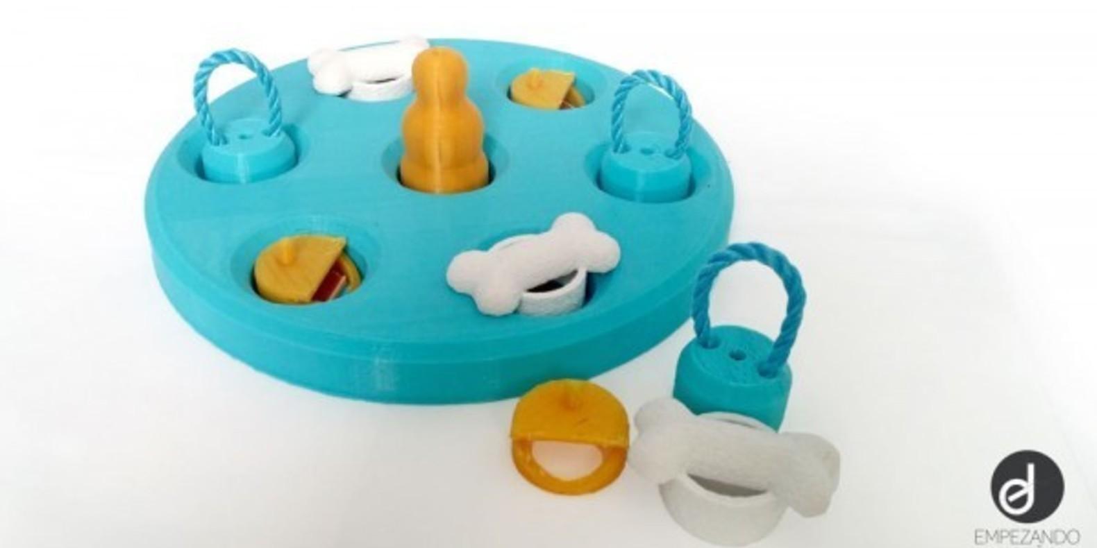 Dogs-game-Empezandodiseno-Cults-3Dprinting-3 jouet pour chiens imprimé en 3D