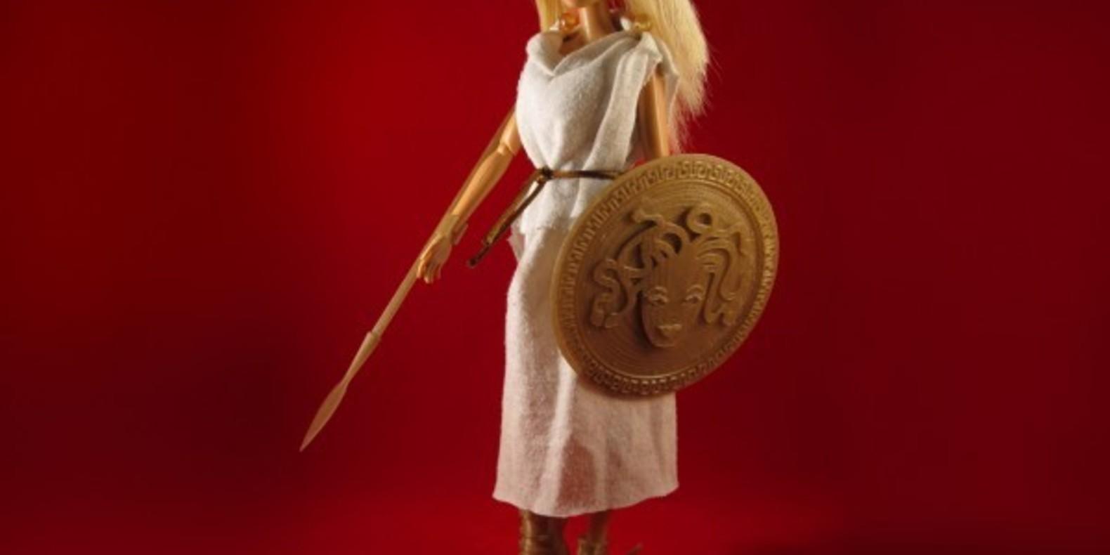 barbie 3D printing impression 3D cults fichier 3D modèle télécharger jim rodda zheng3 faire play kickstarter armure médiévale imprimée en 3D