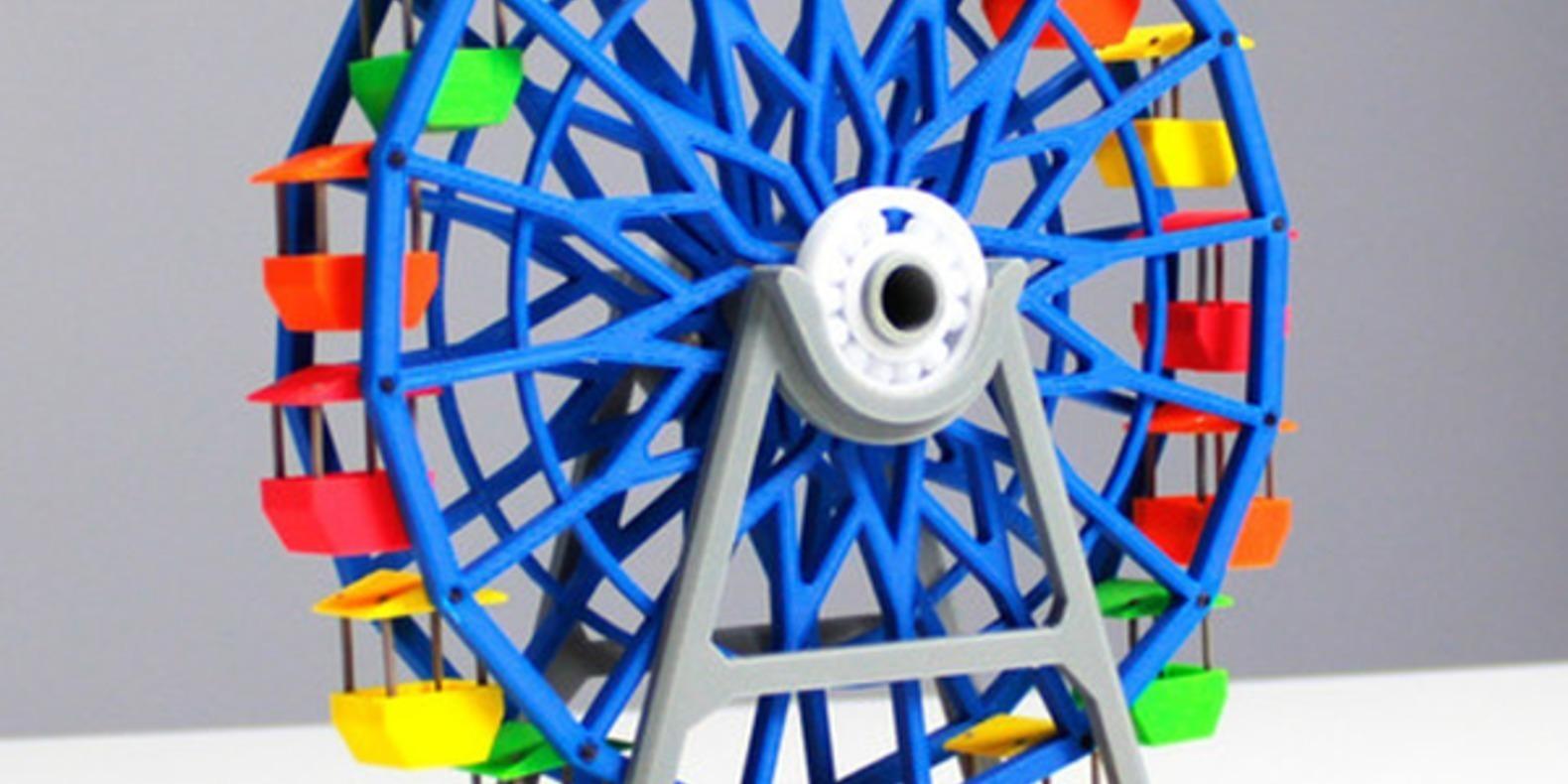 3.Grande_Roue-Zortrax jouets imprimés en 3D