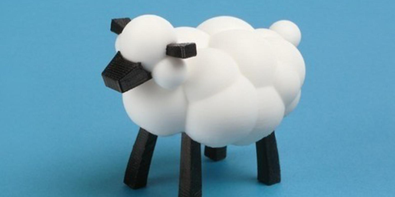 4.Mouton-LeoTheMakerPrince jouets imprimés en 3D