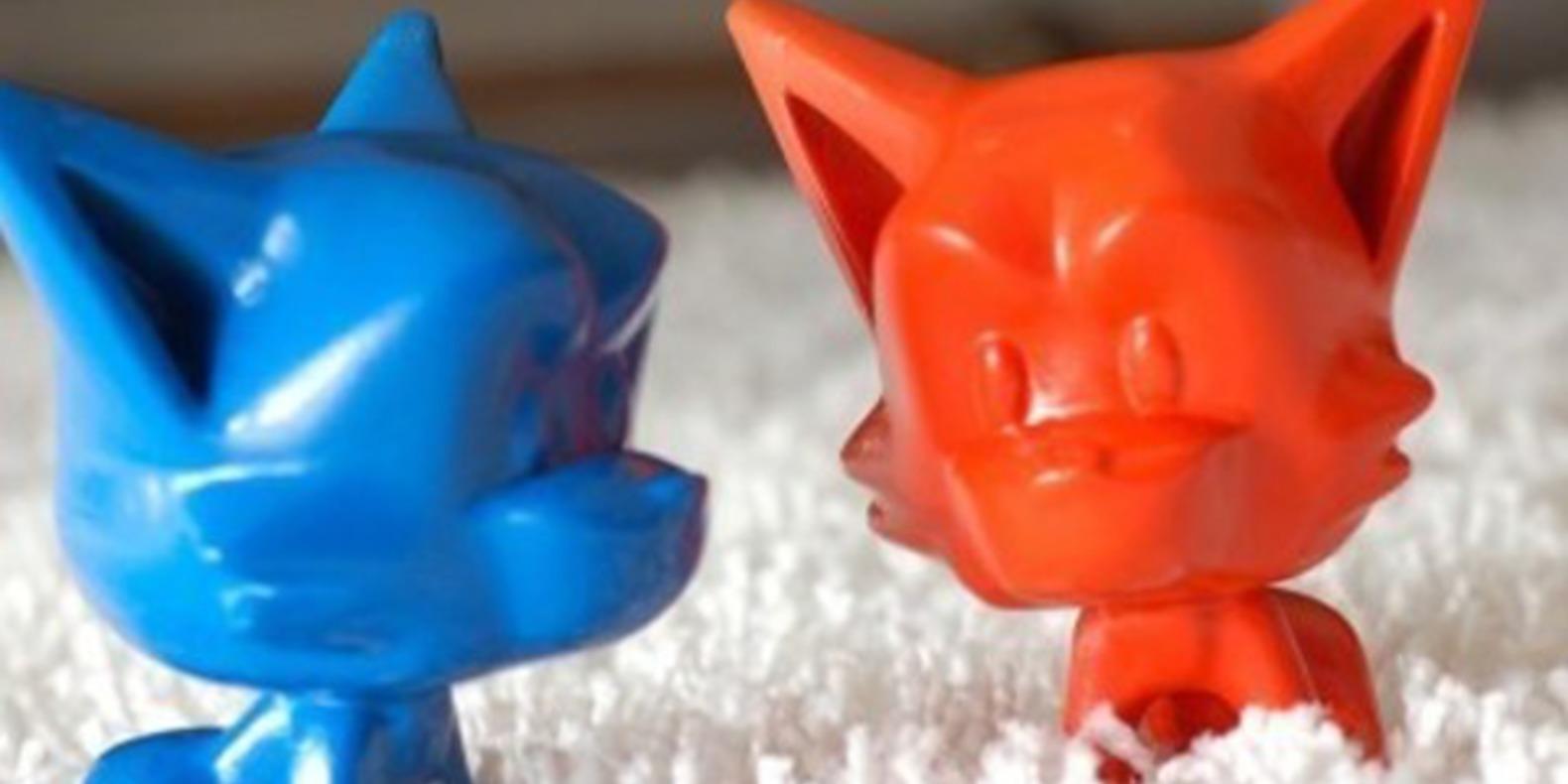 8.Huskys-HelloBard jouets imprimés en 3D