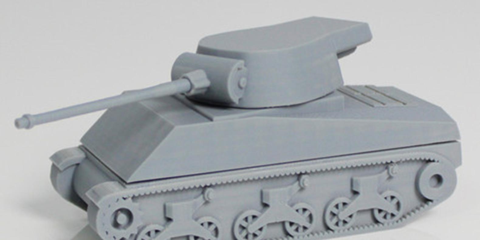 10.Tank-Zortrax jouets imprimés en 3D