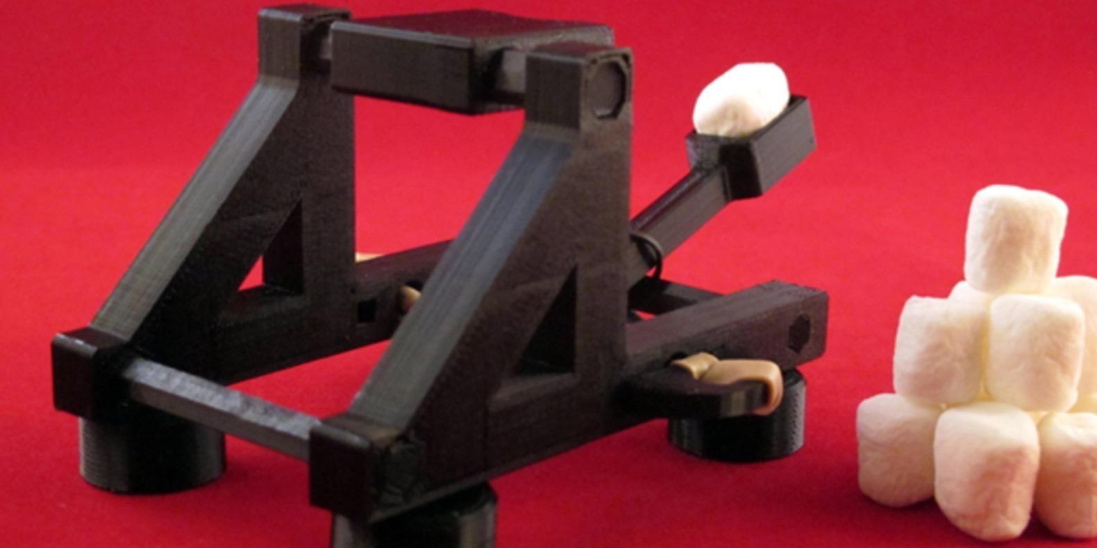 11.Catapulte-Zheng3 jouets imprimés en 3D