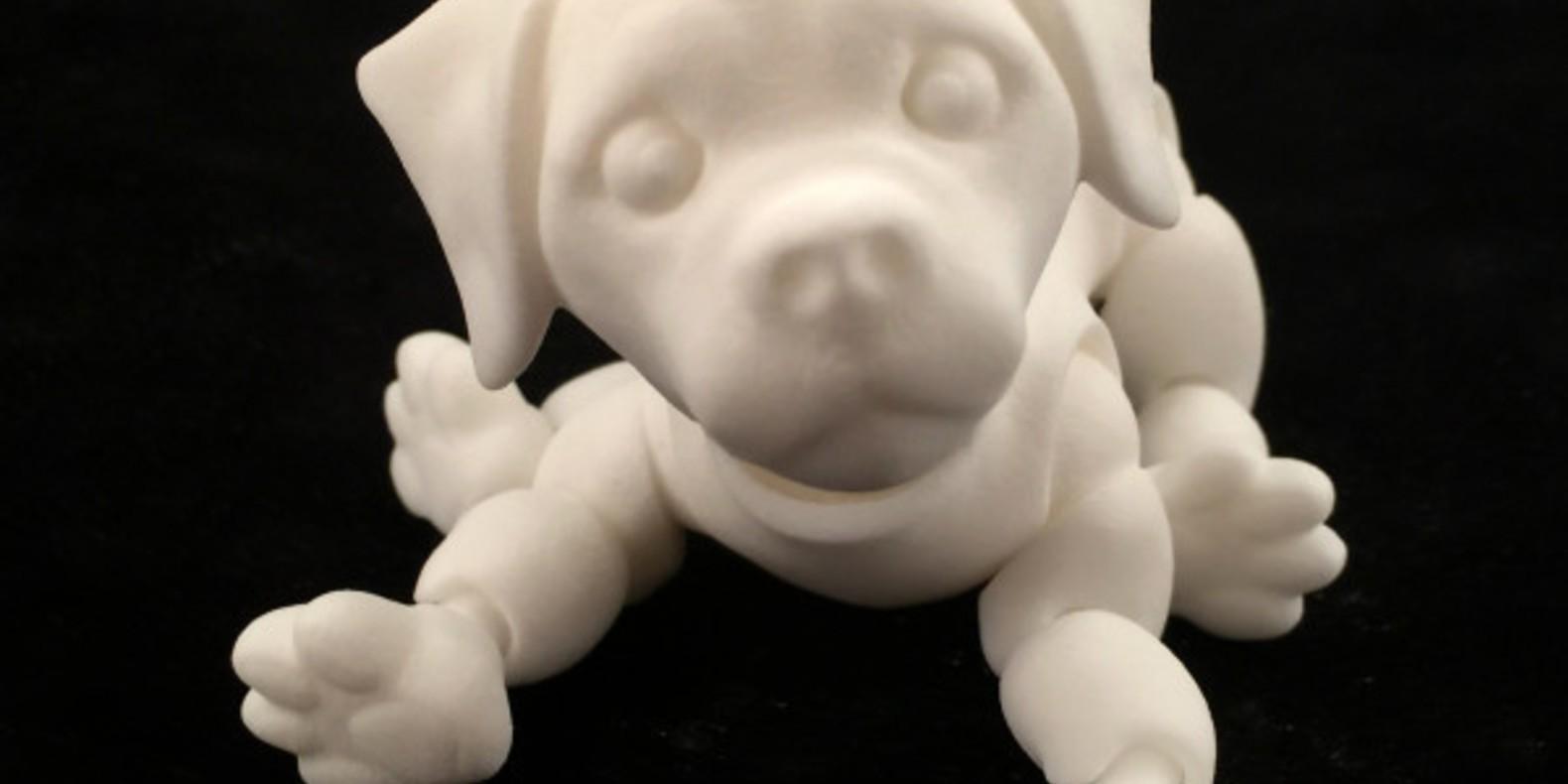 8.Puppy-Jazmy animaux imprimés en 3D Cults fichier 3D 3D model 3D printing