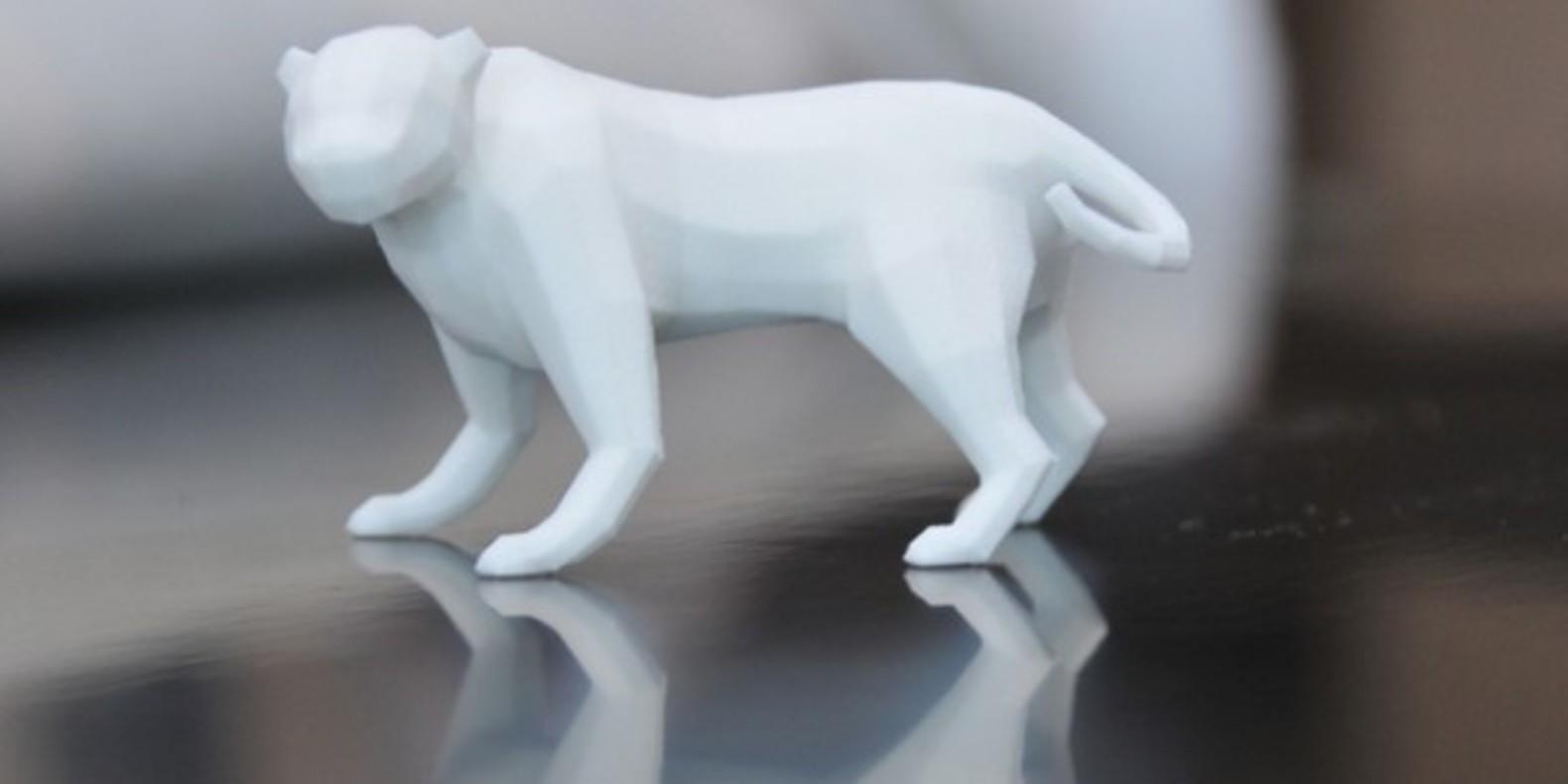 9.Panther-Pigart animaux imprimés en 3D Cults fichier 3D 3D model 3D printing