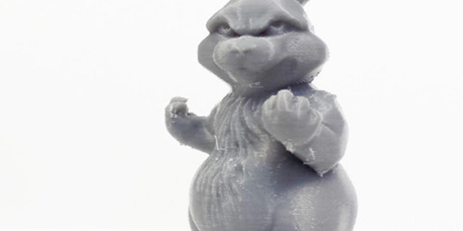 3.Bunny-TanyaWeisner animaux imprimés en 3D Cults fichier 3D 3D model 3D printing