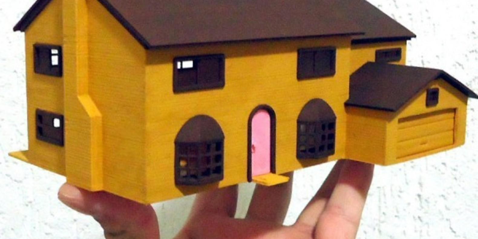 3 La Maison des Simpson A