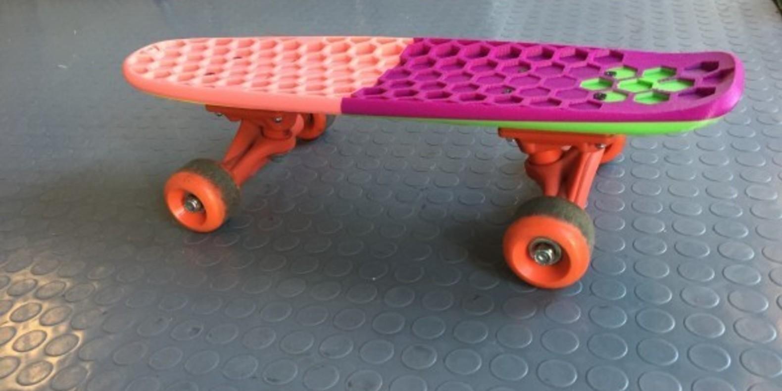 9 Mini Skateboard A