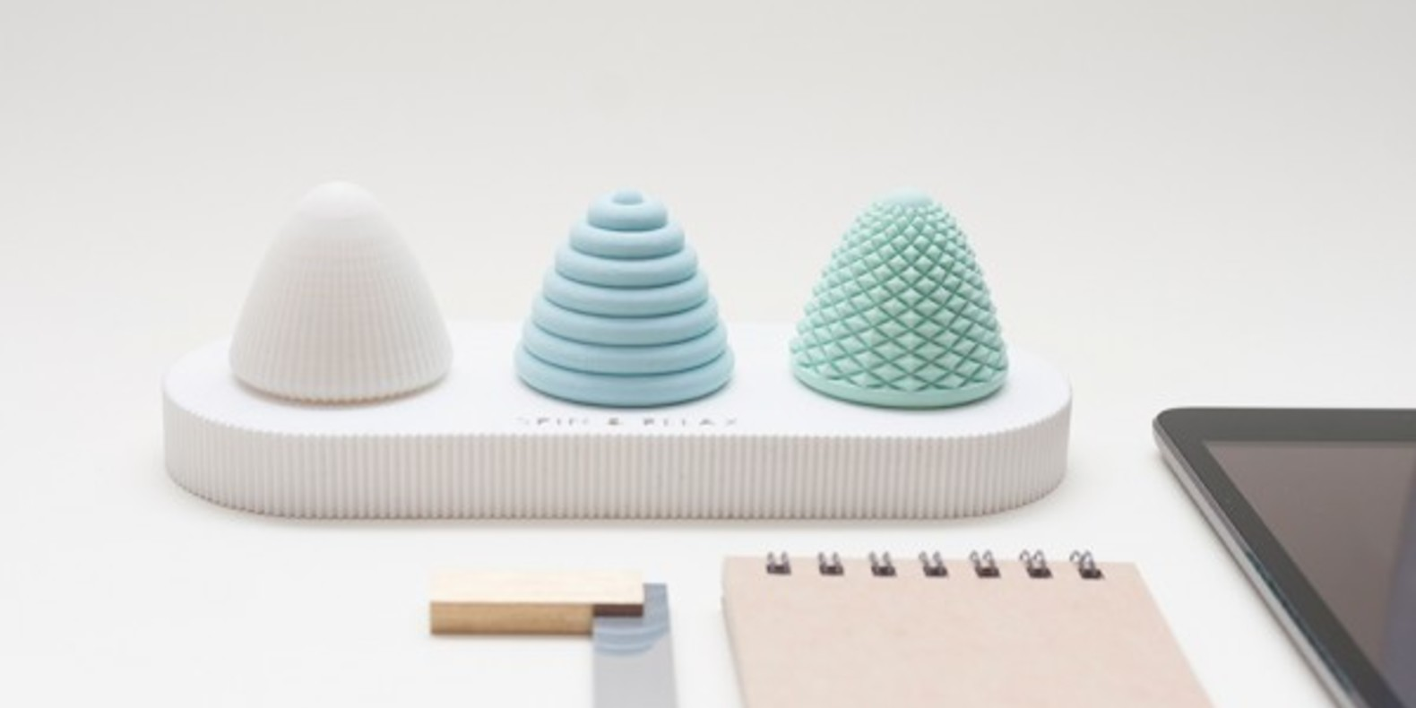 spin and relax Spin&Relax uau project toupies spining top desk toy cults fichier 3D STL