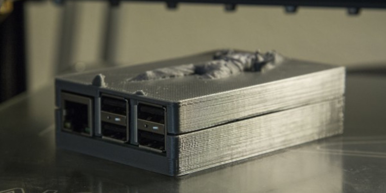 Han solo carbonite star wars raspberrypi 2 case 3D printer imprimé en 3D STL fichier Cults 2