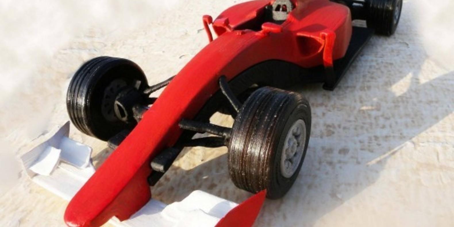 Ferrari F1 2015 mao casella maurizio 3D printed maquette model imprimé en 3D fichier STL cults 1