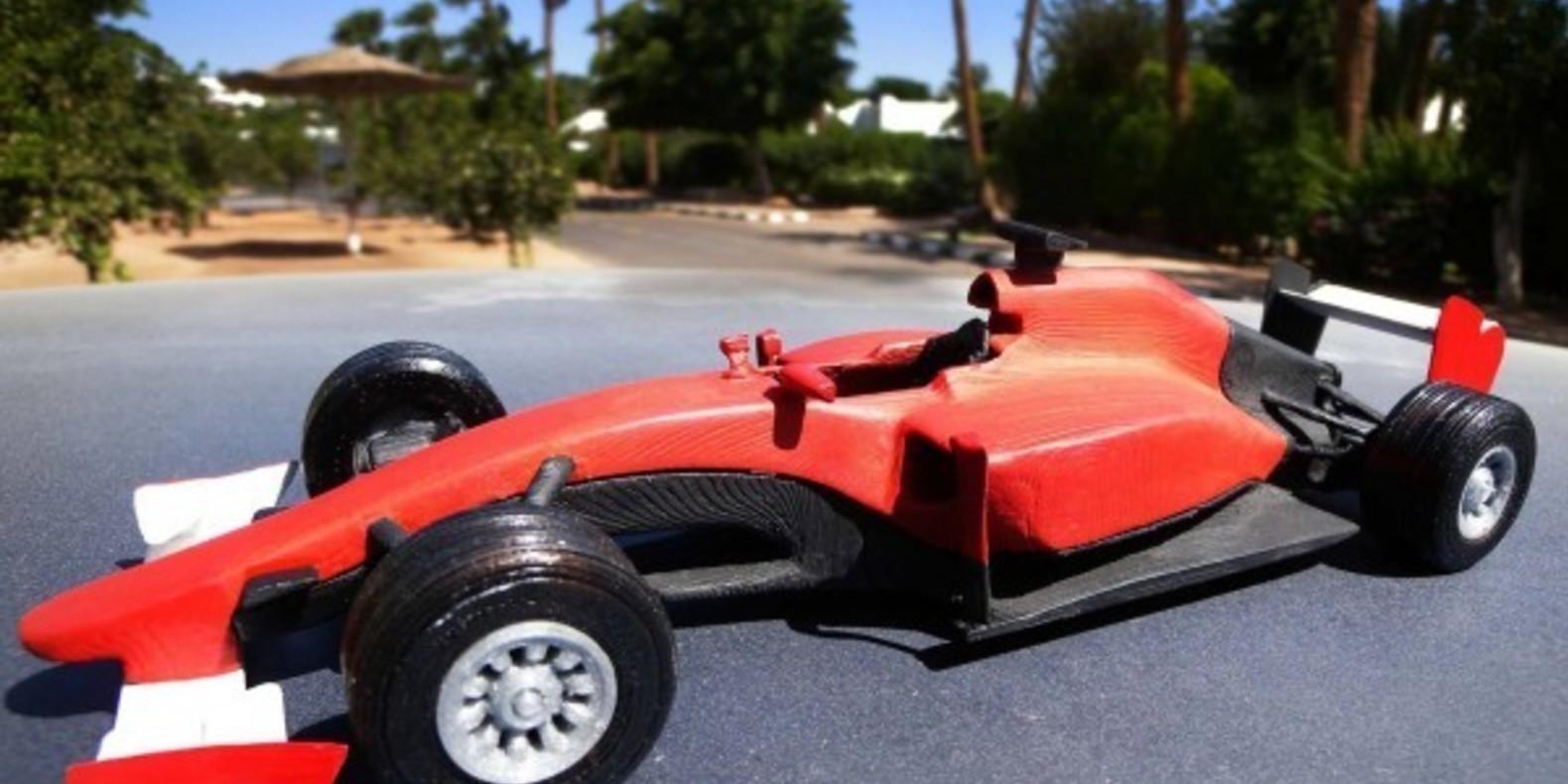Ferrari F1 2015 mao casella maurizio 3D printed maquette model imprimé en 3D fichier STL cults 2
