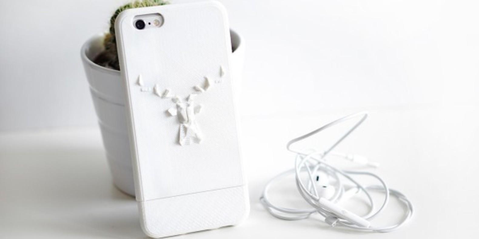 coque iphone shiqi imprimé en 3D fichier 3D cults smartphone 3D printed 1