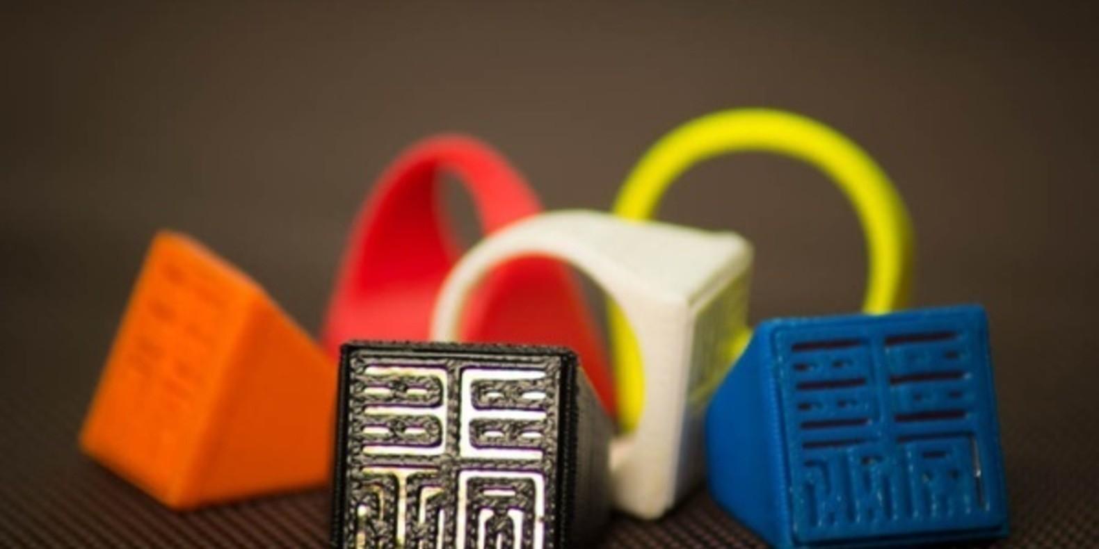 sesame ring theory 3D printed bague imprimée en 3D cults3D fichier 3D kickstarter boston MIT 1