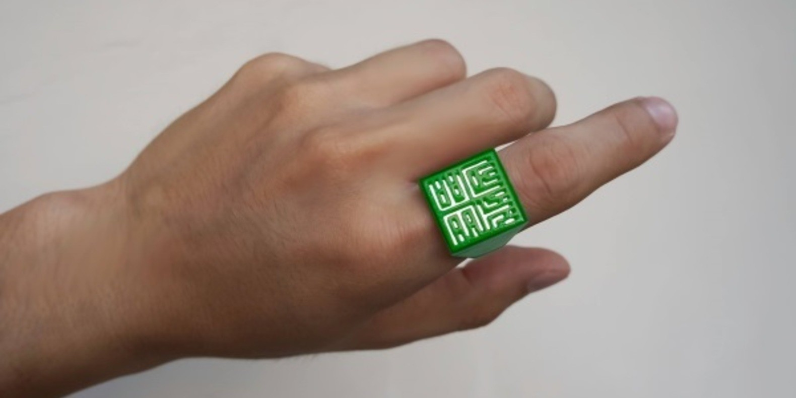 sesame ring theory 3D printed bague imprimée en 3D cults3D fichier 3D kickstarter boston MIT 2