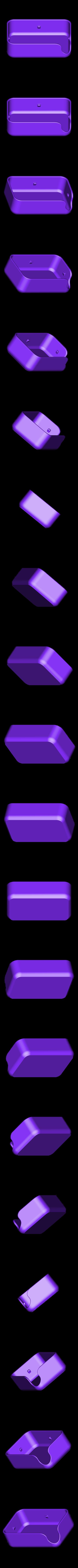 Soap_holder_-_Box.STL Télécharger fichier STL gratuit Soap holder • Modèle pour imprimante 3D, piuLAB