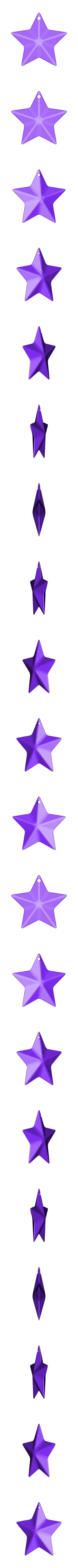 star.stl Download STL file Outa Space Mobile • 3D print design, XYZWorkshop