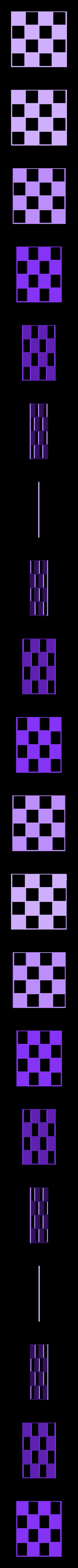 XYZ_chessboard.stl Download STL file Micro Planter Chess Set • 3D print template, XYZWorkshop