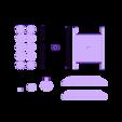 STL_UltiBotBot_Base_n_Cannon.stl Download STL file The Ulti-BotBot • 3D printer design, XYZWorkshop