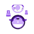 STL_UltiBotBot_Body_n_claws.stl Download STL file The Ulti-BotBot • 3D printer design, XYZWorkshop