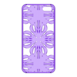 Fractal_Iphone_5_Case-fixed.stl Download STL file iPhone 5 cover- Fractal Design • 3D printable model, sjenneman