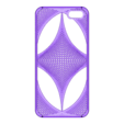 thatch.stl Download STL file iPhone 5 Cover- Mathematical • 3D printing model, sjenneman