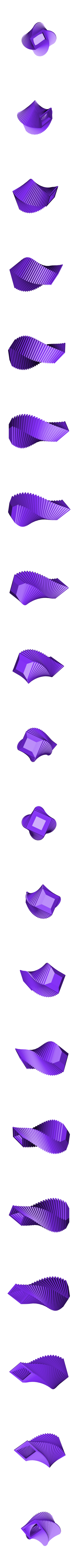 Arrayed_Vase_7a.STL Download STL file Arrayed Vase 7 • 3D print template, David_Mussaffi
