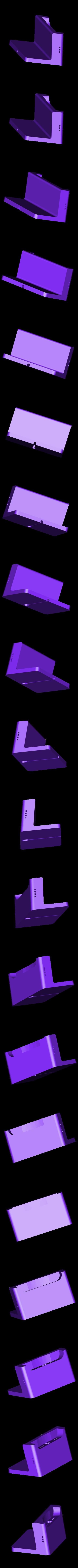 Dock_V2.4_Cults3D.STL Télécharger fichier STL gratuit Dock de Bureau pour iPhone 5 • Objet pour impression 3D, printlab