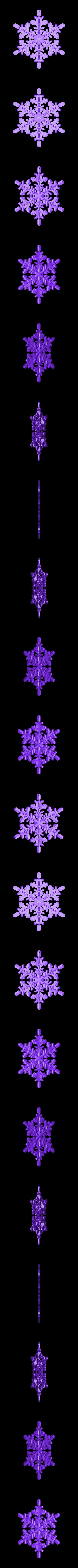 CreativeTools.se_-_ZPrinter-model_-_Snowflake.stl Download free STL file Snowflake • 3D printable object, CreativeTools