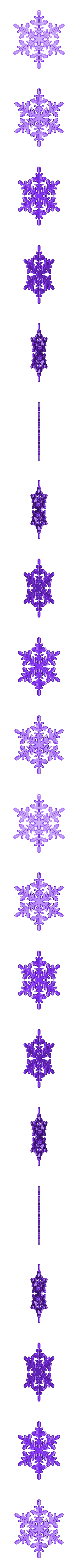 CT-Snowflake_FFF.stl Download free STL file Snowflake • 3D printable object, CreativeTools