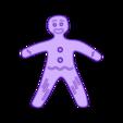 CreativeTools.se_-_ZPrinter-model_-_Gingerbread_man.stl Télécharger fichier STL gratuit Gingerbread man • Design imprimable en 3D, CreativeTools