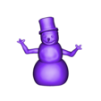 CreativeTools.se_-_ZPrinter-model_-_Snowman.stl Download free STL file A snowman • 3D printable design, CreativeTools