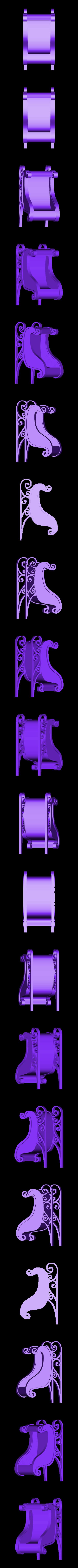 CreativeTools.se_-_ZPrinter-model_-_Santas_sleigh.stl Download free STL file Santa's sleigh • 3D print design, CreativeTools