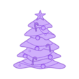 CreativeTools.se_-_ZPrinter-model_-_Christmas_tree.stl Download free STL file Flat decorative Christmas tree • 3D printable model, CreativeTools