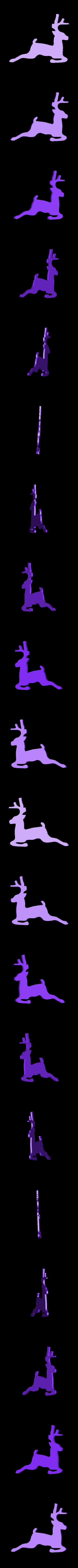CreativeTools.se_-_ZPrinter-model_-_Reindeer_shape.stl Télécharger fichier STL gratuit Forme du renne • Plan imprimable en 3D, CreativeTools
