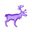 CreativeTools.se_-_ZPrinter-model_-_Reindeer.stl Download free STL file Reindeer • Template to 3D print, CreativeTools