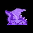 dragon2.STL Download STL file dragon ailé • 3D printer model, Guich