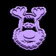 Rudolph_the_Reindeer_Cookie_Cutter.STL Télécharger fichier STL gratuit Emporte Pièce Rudolph le Renne • Objet à imprimer en 3D, OogiMe